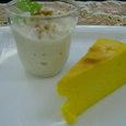 パンプキンチーズケーキ&バナナココナツプリン